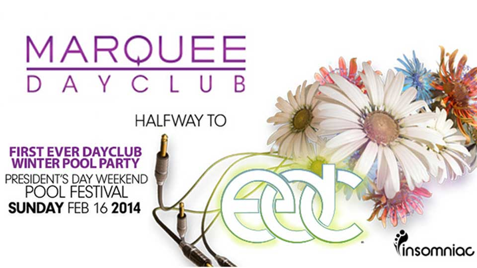 Winter Pool Party at Marquee Dayclub